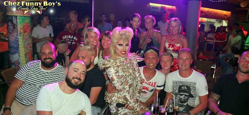 Chez Funny Boys gay bar Gran Canaria